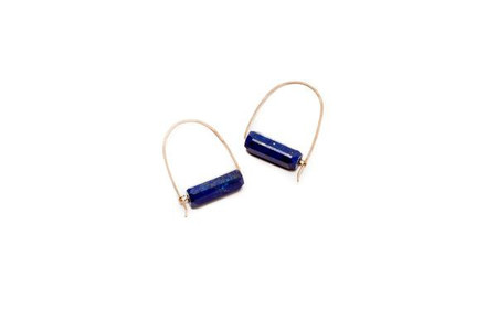 Lumafina - Lapis Single Hoops