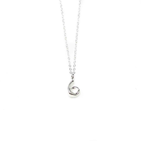Wolf Circus OK Hand Necklace Silver