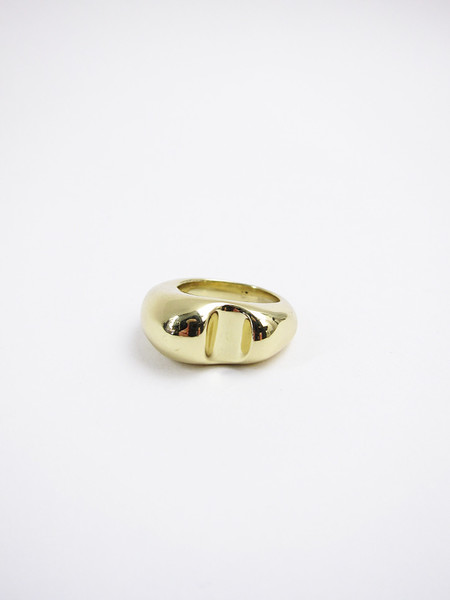 Leigh Miller Bite Ring - Brass