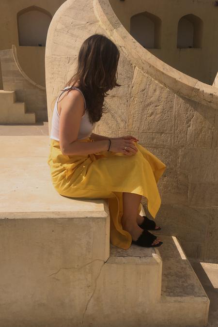 Ajaie Alaie Rosa Skirt | Sol