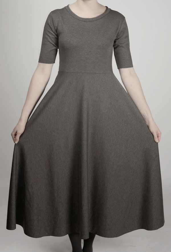 Brit Wacher knit circle dress