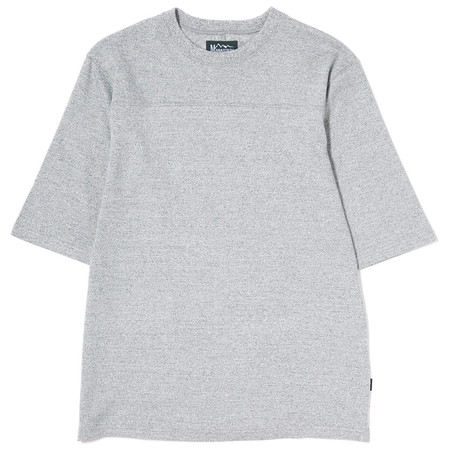 Manastash Hemp Half Sleeve Football T-Shirt - Grey
