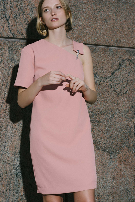 Nomia Carabiner Dress - Coral