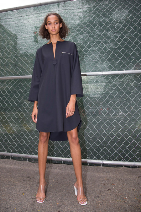 Nomia Oversize Tunic Dress - Midnight