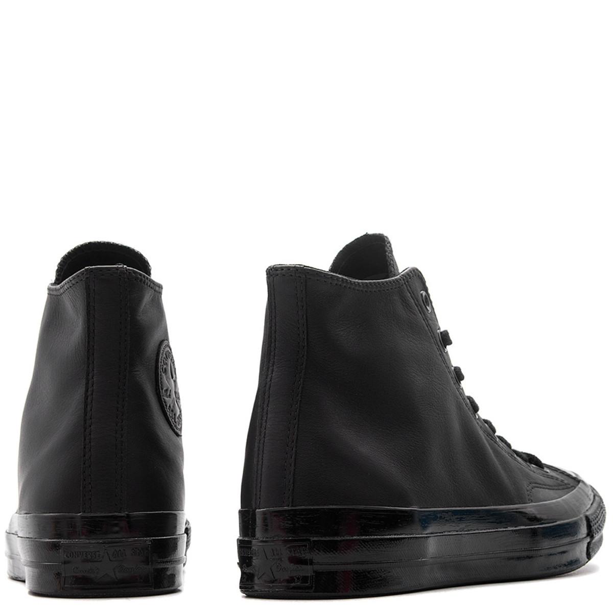 8ab3441e247 Converse Chuck Taylor All Star 70 Mono Leather Hi - Black