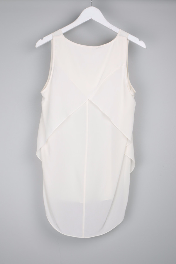 10 Crosby by Derek Lam V Neck Tank
