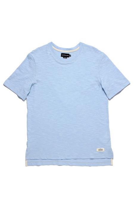 Outclass Slub Knit T-Shirt  Blue