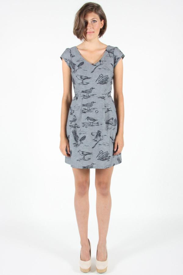 Birds of North America - Sandpiper Dress