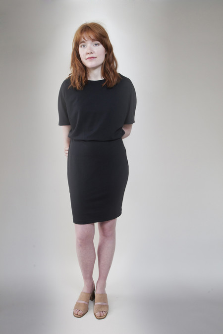 Valérie Dumaine Laurel Dress Black
