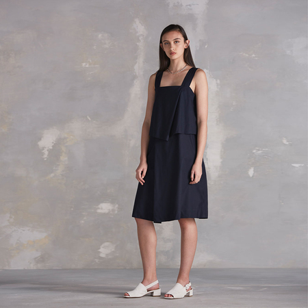 Kowtow Shifting View dress - navy