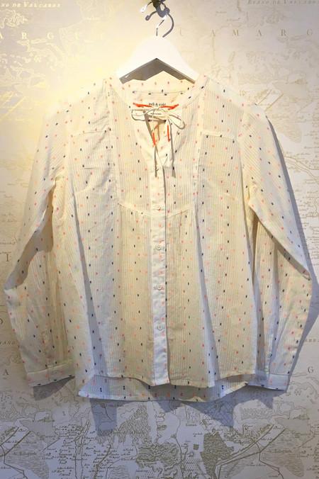 Indi & Cold Light Cotton Multi Neon Long Sleeve Top