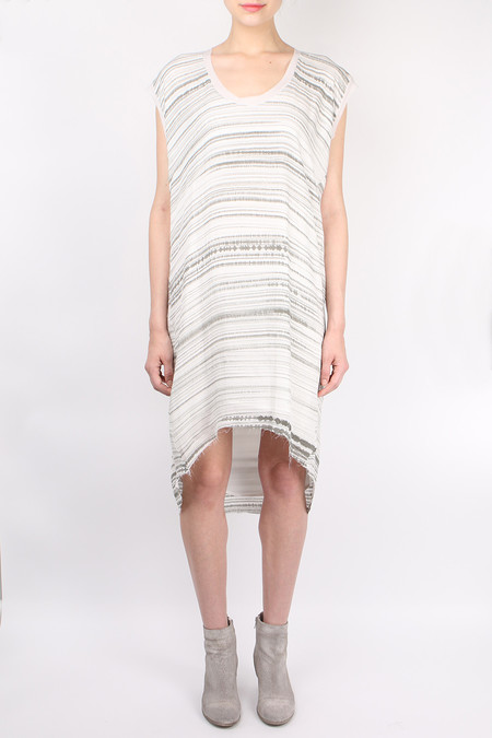 Pharaoh Brush Stroke Cocoon Dress