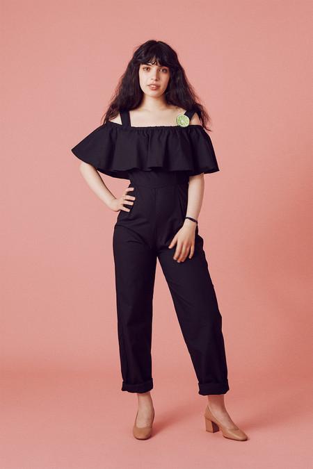 Samantha Pleet Primrose Jumpsuit - Black