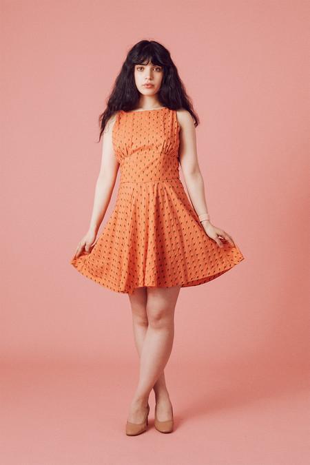 Samantha Pleet Welkin Dress - Seed Embroidery