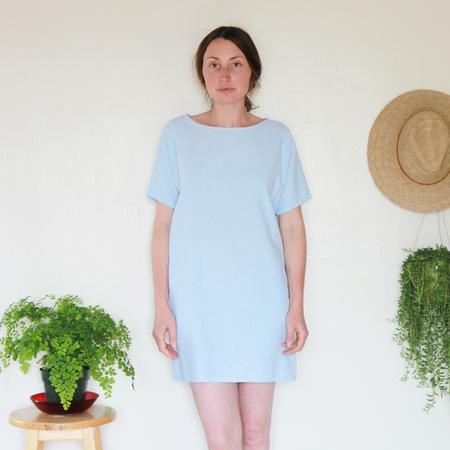Me & Arrow Sleeve Dress - Sky
