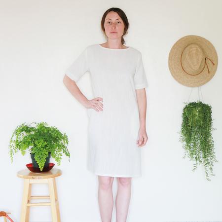 Me & Arrow Tall Dress - Ivory Cotton