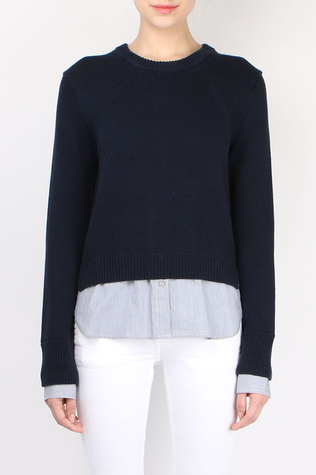 Brochu Walker Anton Layered Pullover