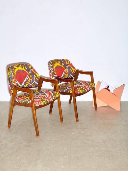 Ico Parisi Armchairs for Cassina