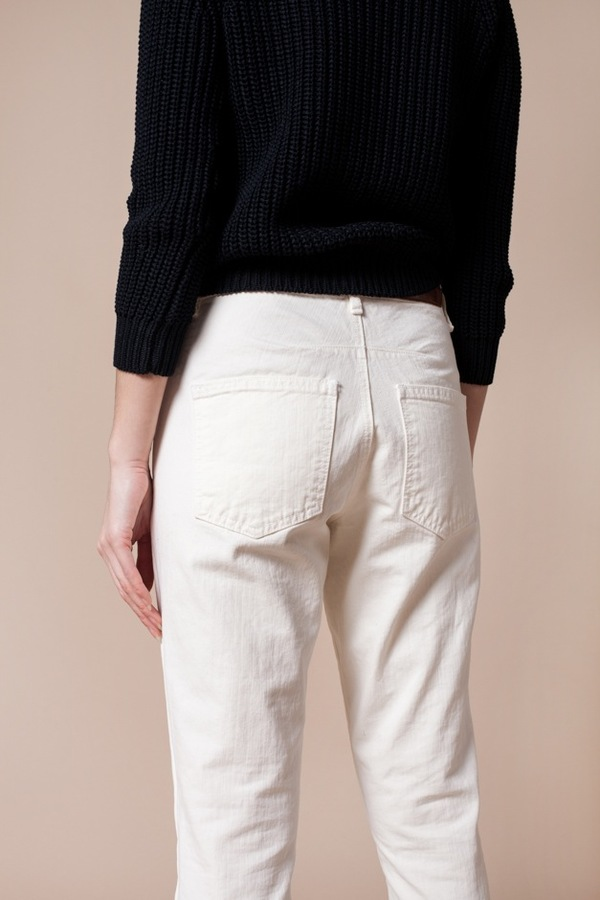 Objects Without Meaning Boy Zip Jean - chalk