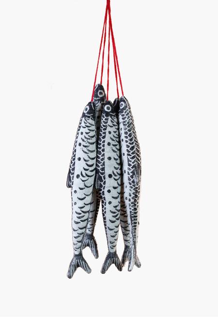 Nicola Gardiner Block Printed Fish