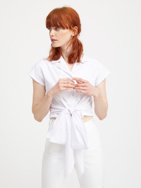 Kurt Lyle KAZU WRAP BLOUSE