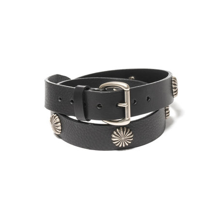 Maple Concho Belt - Black