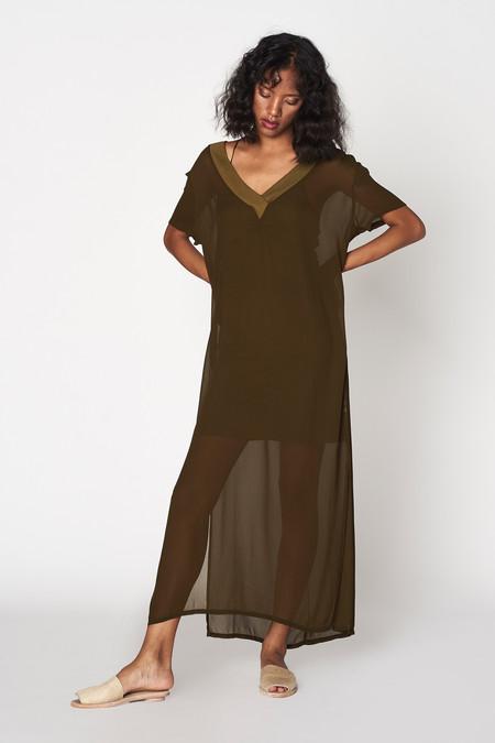 Lacausa Clothing V Shirtdress