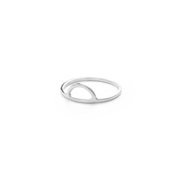 Free Series Half Moon Ring