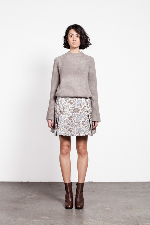 Timo Weiland Taryn Pleat Skirt