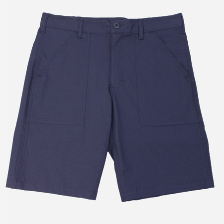 Stan Ray 4-Pocket Fatigue Shorts - Navy Ripstop