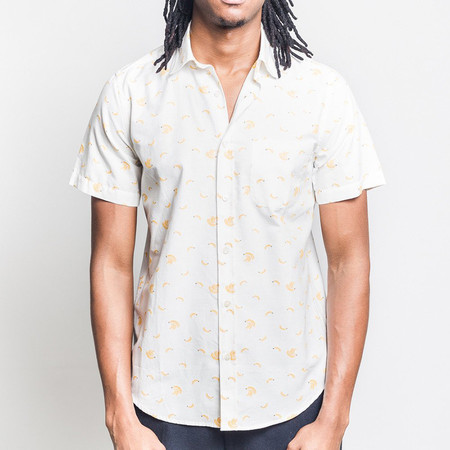 Portuguese Flannel Bananas Short-Sleeve Shirt