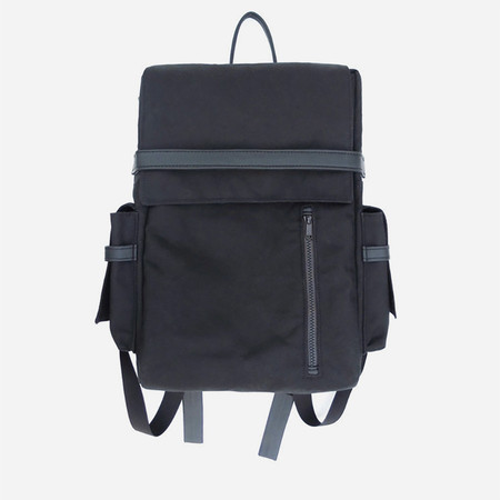 Woolfell Cargo Backpack - Black