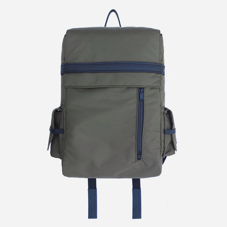 Woolfell Cargo Backpack - Military Green