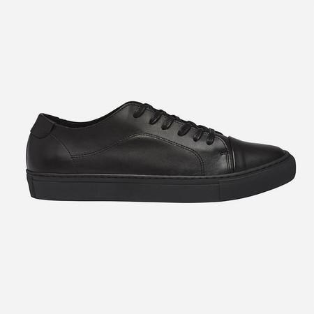 Garment Project Classic Lace - Black/Black Leather