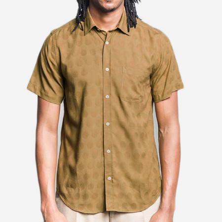 Portuguese Flannel Creoula Short-Sleeve Shirt - Olive