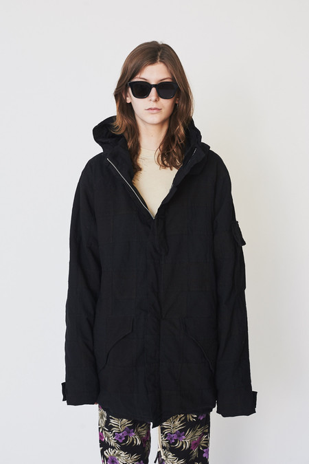 Unisex Assembly New York Patchwork Storm Coat