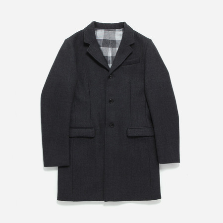 Outclass Attire Overcoat - Charcoal Grey
