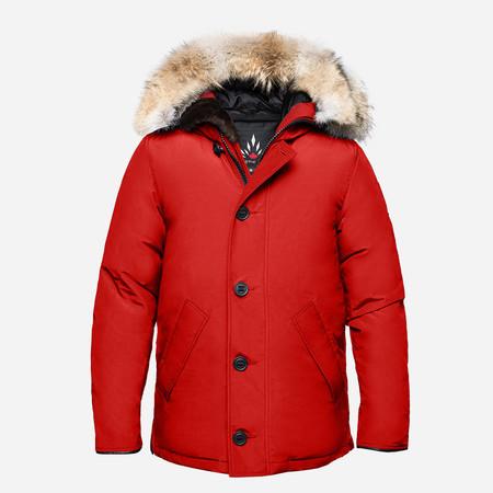 Arctic Bay Toronto City Parka - Red