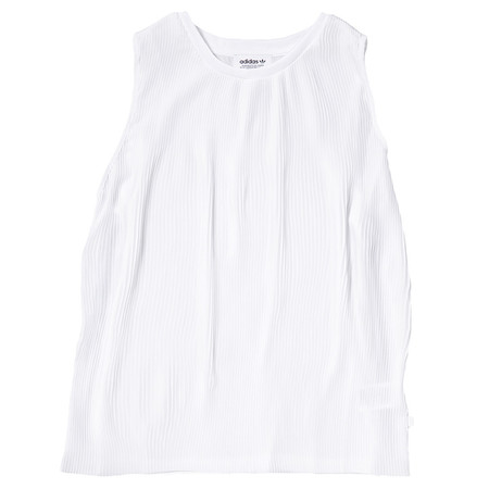 Adidas 3 Stripes Tank / White