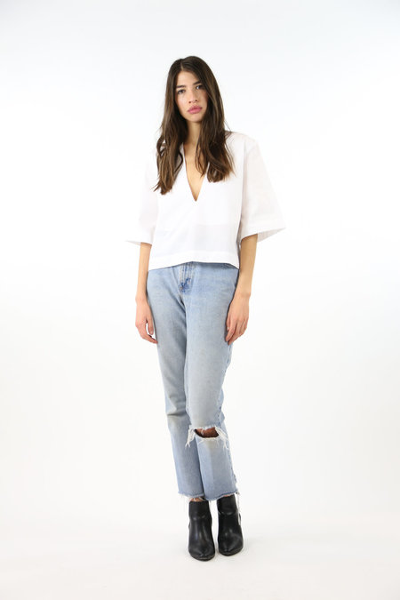 Toit Volant Poppy Top - White