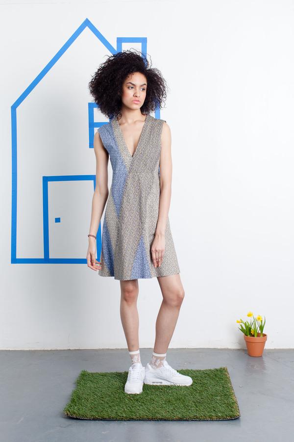 CF. Goldman Pieced Dress