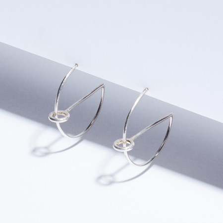 Metalepsis Projects hoop earrings