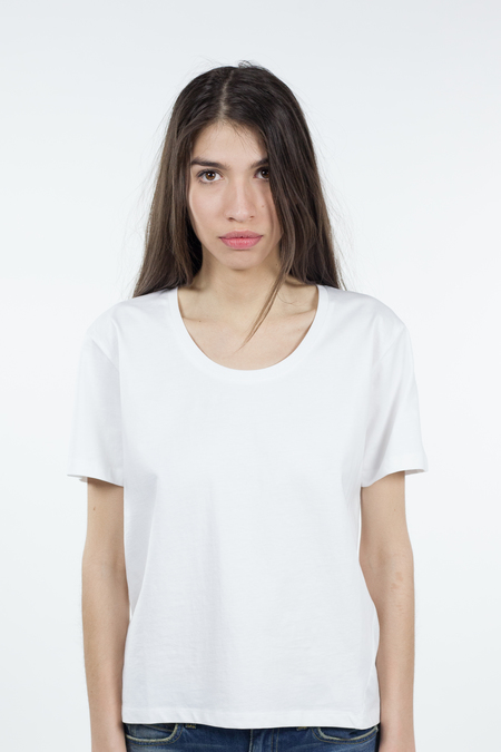 Kowtow Building Block Scoop Tee