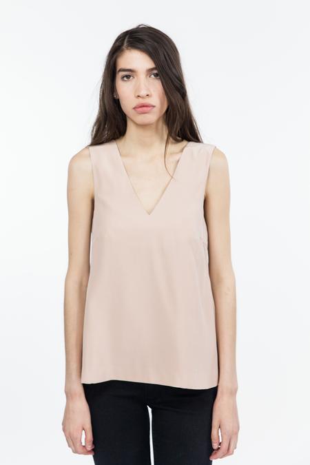 TY-LR Luxe Silk Sleeveless Top