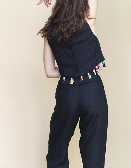Rachel Antonoff Squinn Pleated Pants