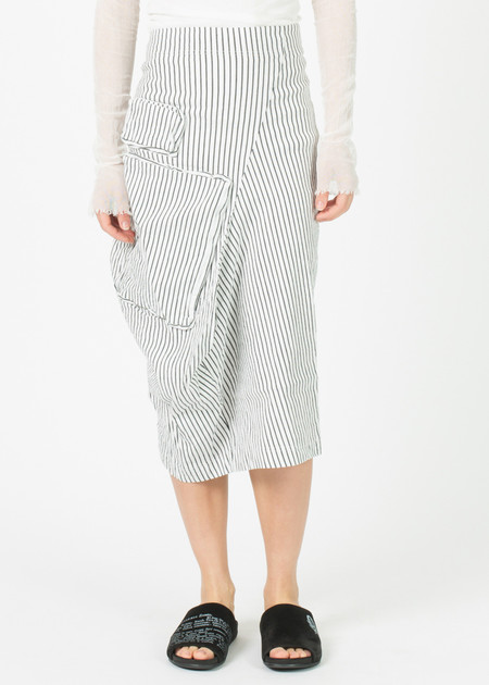 Rundholz Asymmetric Two Pocket Skirt