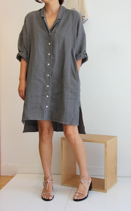 ILANA KOHN STEVEN DRESS IN GRAPHITE