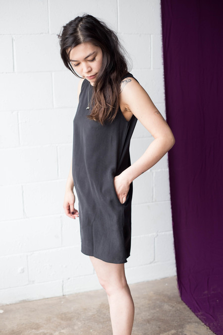 We Are Stories Foxglove Dress - Black