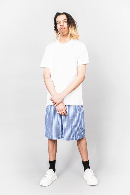 Comme Des Garçons SHIRT boys Rear Logo Tee White