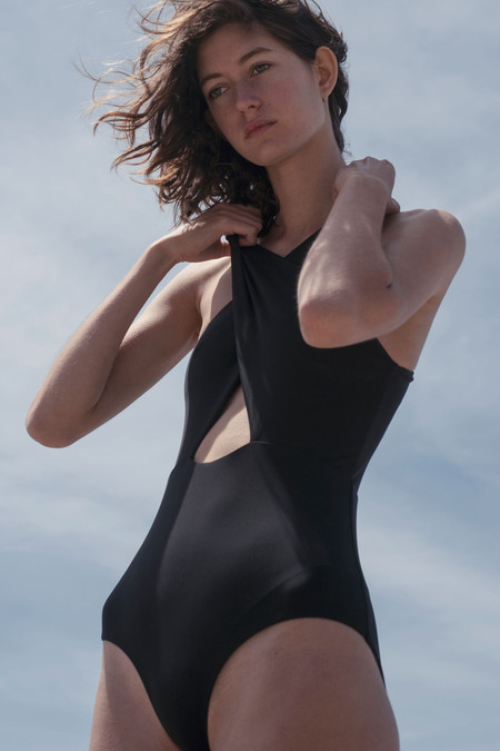 Shaina Mote Sassen Maillot One-Piece - Black